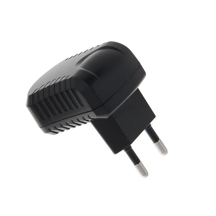 Адаптер питания Cablexpert MP3A-PC-08, 100/220 В - 5 В, USB 1 порт, 1 A, черный