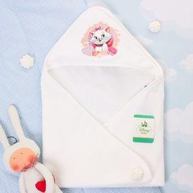 Полотенце детское с капюшоном 'Дисней беби' Кошечка Мари, размер 75 х 75 см Ош