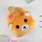 Мягкий рюкзак «Счастливый мишка»