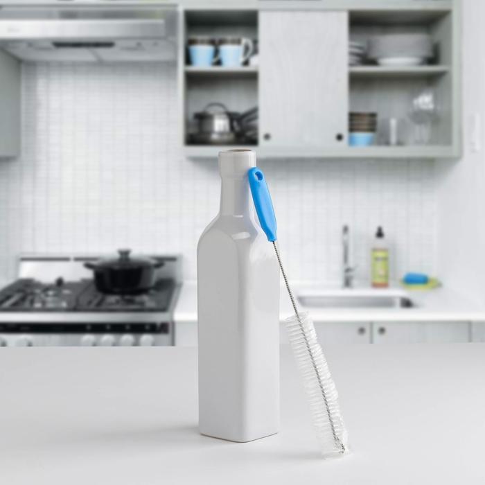 Ёршик для посуды 23×1,5 см, цвет МИКС