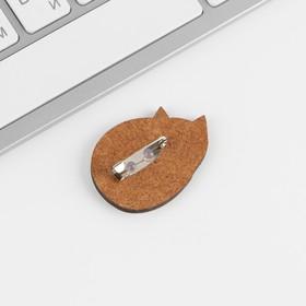 Открытка со значком «Оберег на гармонию в дом», 4,1 х 2,9 см - фото 7470390