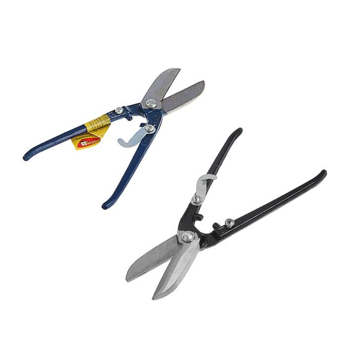 Ножницы по металлу Hobbi/Remocolor , с фиксатором,  200 мм