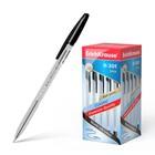 Ручка шариковая Erich Krause R-301 Classic Stick, узел 1.0 мм, чернила чёрные, длина линии письма 2000м, штрихкод на ручке