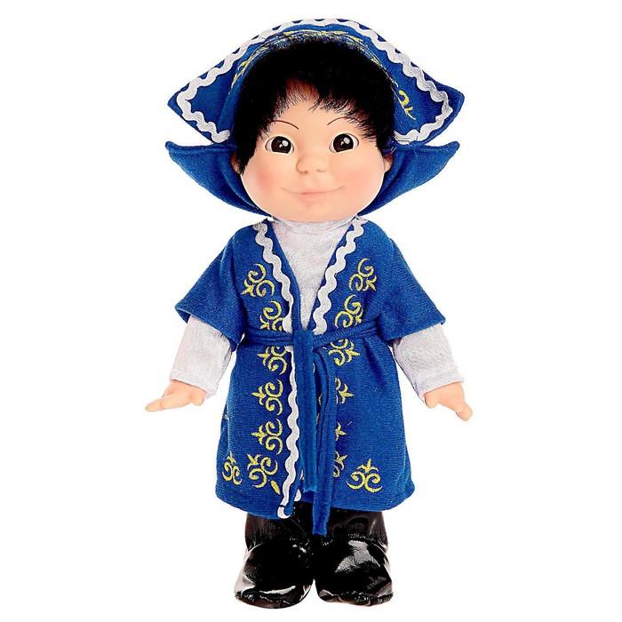 Кукла «Веснушка», в казахском костюме, мальчик, 26 см - фото 1705170