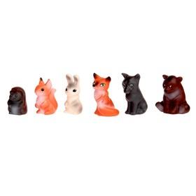Набор резиновых игрушек «Животные леса» Ош