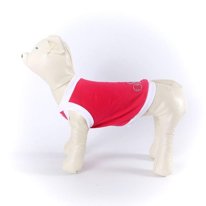 Майка OSSO для собак со стразами, размер 30