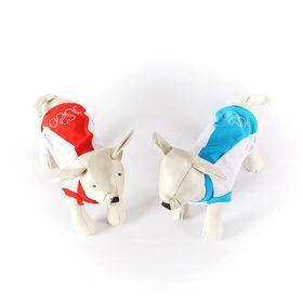 Майка OSSO для собак со стразами из сетки, размер 22 (ДС 18-19 см, ОГ 32-34 см)