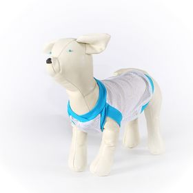 Майка OSSO для собак из сетки, размер 20 (ДС 17-18 см, ОГ 30-32 см)