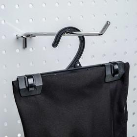 Trouser hanger L=16.5, color: black