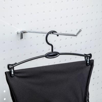 Вешалка для брюк и юбок L=27, (фасовка 10 шт), цвет чёрный