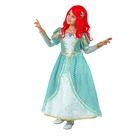 """Карнавальный костюм """"Принцесса Ариэль"""", бархат, р-р 36, рост 140 см"""