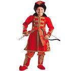 Карнавальный костюм «Иван Царевич», бархат, парча, размер 34, рост 134 см