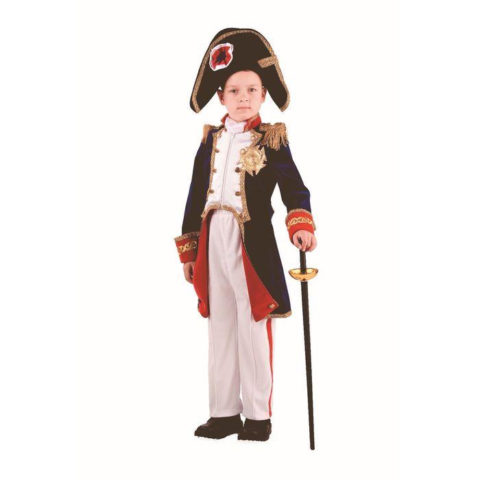 Карнавальный костюм «Наполеон», (бархат, парча), размер 36, рост 146 см