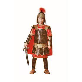 Детский карнавальный костюм «Римский воин», текстиль, размер 34, рост 128 см