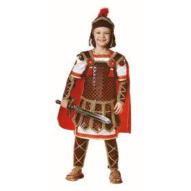 Карнавальный костюм «Гладиатор», бархат, размер 30, рост 116 см