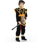 Карнавальный костюм «Супер Ниндзя», бархат, размер 28, рост 110 см