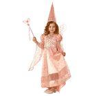Карнавальный костюм «Сказочная фея», р. 34, рост 134 см, цвет розовый
