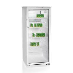 """Шкаф холодильный """"Бирюса"""" 290 E, от 1 до 10°C, 290 л, 220 Вт, белый/прозрачные двери"""