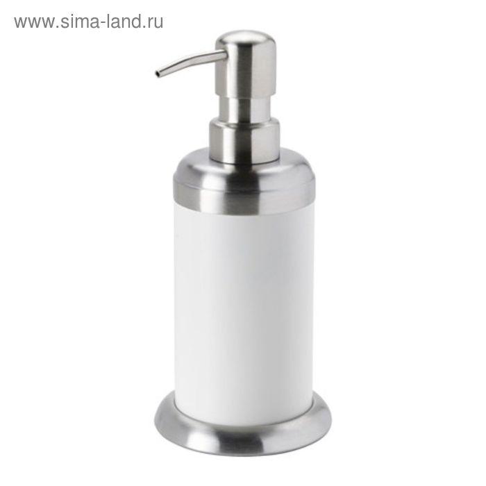 Дозатор для жидкого мыла, цвет белый МЬЁСА