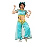 Карнавальный костюм «Жасмин», текстиль, размер 28, рост 110 см