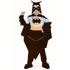Детский карнавальный костюм «Чёрный плащ», бархат, размер 38, рост 152 см