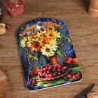 """Доска разделочная большая """"Любимой бабушке"""" натюрморт"""", 19,5×27,5 см - фото 308024235"""
