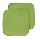 Набор подушек на стул - 2 шт., размер 34х34 см, цвет фисташковый