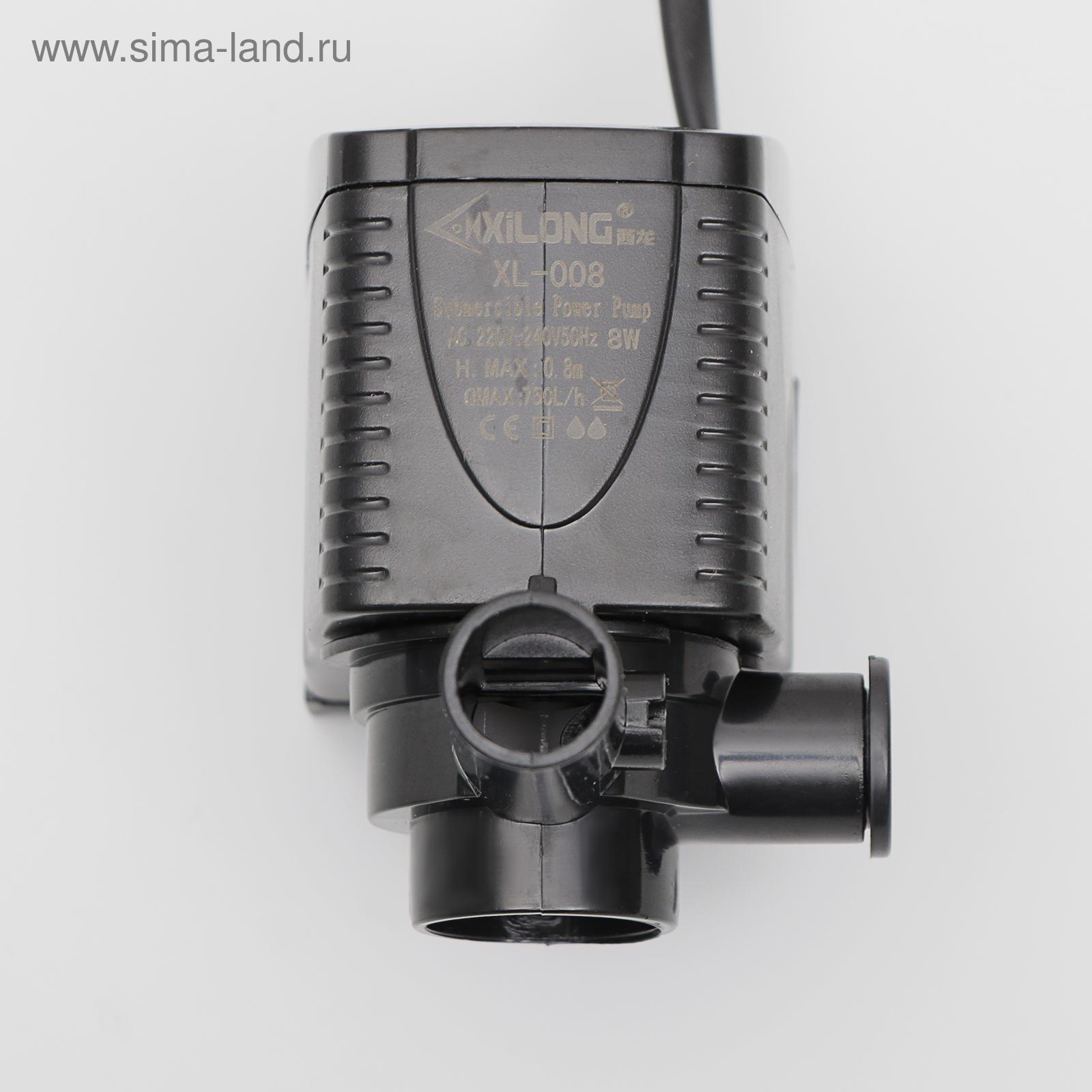 Помпа перемешивающая СИЛОНГ XL-008 12Вт, 600л ч, h.max 0,8м (2307548 ... bddebbe112c