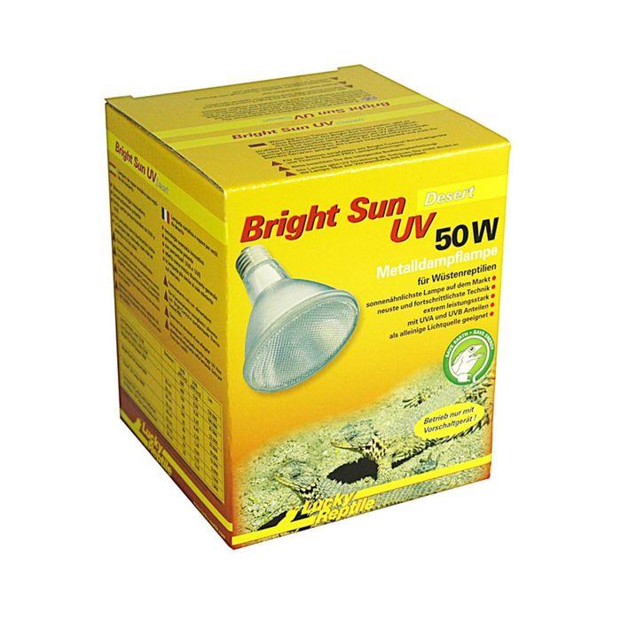 Лампа МГ Bright Sun UV Desert 50Вт, цоколь Е27