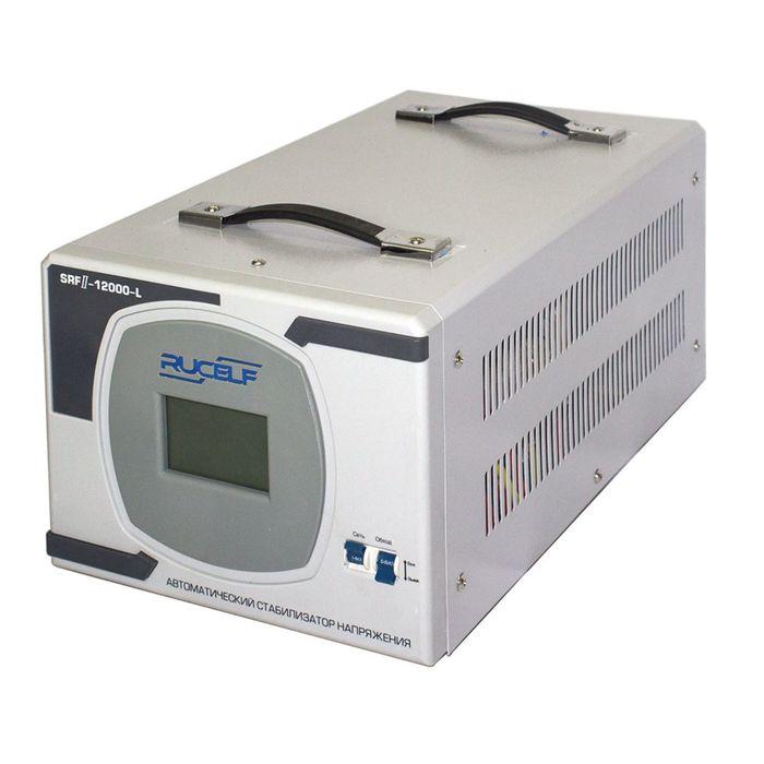 Стабилизатор напряжения RUCELF SRF.II-12000-L, релейный, напольный, точн. ±8%, 12000 ВА