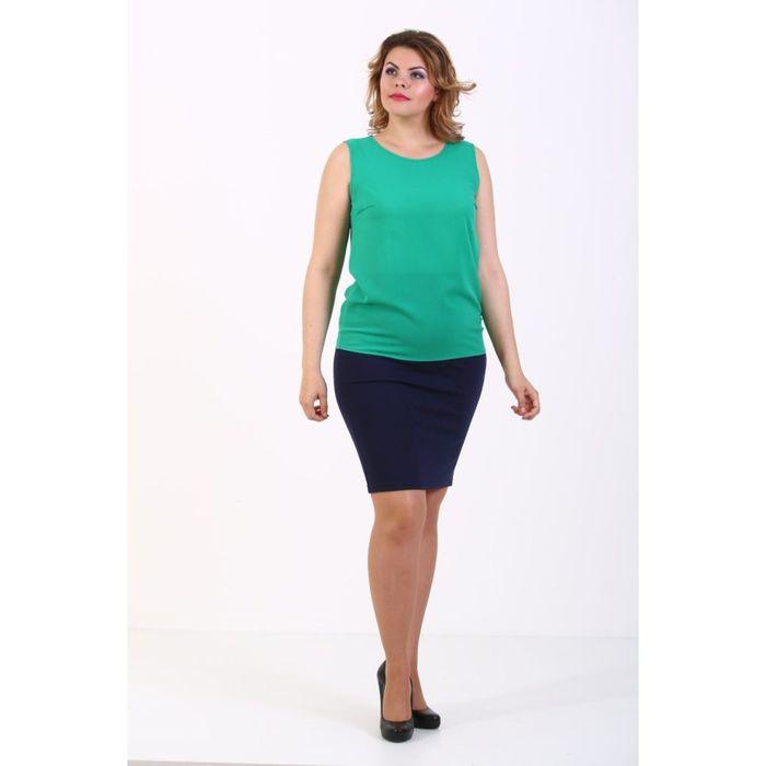 Топ женский, размер 42, цвет зелёный 114Т860