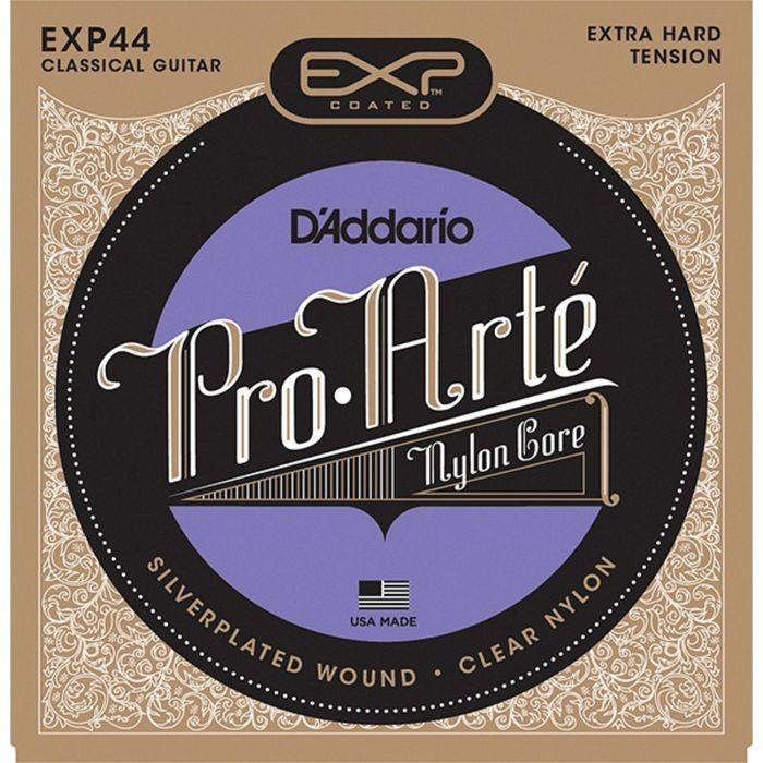 Струны для классической гитары D`Addario EXP44 CLASSICAL  Extra Hard