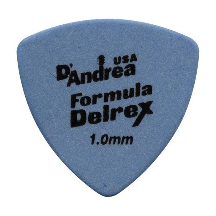 Медиаторы D`Andrea RD346-100 Formula Delrex  72шт, треугольные, матовая нескользящая поверхность.