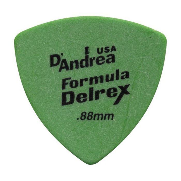 Медиаторы D`Andrea RD346-088 Formula Delrex  72шт, треугольные, матовая нескользящая поверхность.
