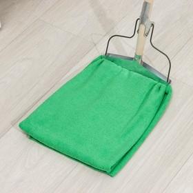 Салфетка из микрофибры 80×70 см, 250 г/м2, цвет зелёный - фото 7379840
