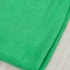 Салфетка из микрофибры 80×70 см, 250 г/м2, цвет зелёный - фото 7379841