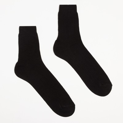 Носки мужские, размер 27, цвет чёрный