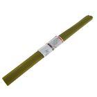 Бумага крепированная 50x250см, 32 г/м², оливковая, растяжение 55%, в рулоне