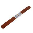 Бумага крепированная 50x250см, 32 г/м², коричневая, растяжение 55%, в рулоне
