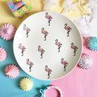 """Тарелка 22 см """"Розовый фламинго"""""""