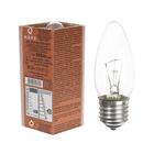 Лампа накаливания ДС, 60 Вт, E27, КЭЛЗ