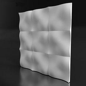 Гипсовая 3D панель Dos 500х500 Ош