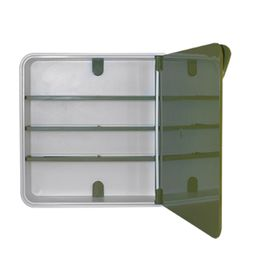 Ящик для лекарств, цвет дверцы зеленый