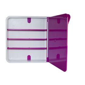 Ящик для лекарств, цвет дверцы розовый