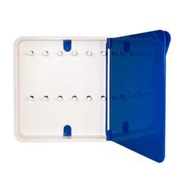 Ящик для ключей Byline, цвет дверцы синий