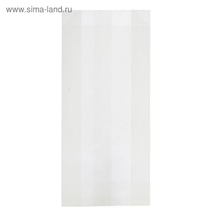 Пакет крафт бумажный фасовочный, 9 х 4 х 20,5 см, для картофеля-фри, ВПМ