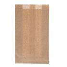 Пакет крафт бумажный фасовочный, для выпечки, 14 х 6 х 25 см