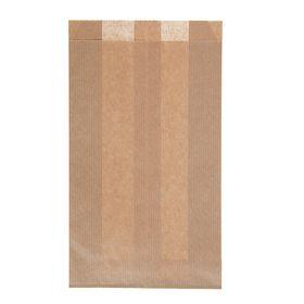 Пакет крафт бумажный фасовочный, для выпечки, 14 х 6 х 25 см Ош