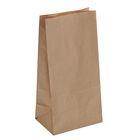 Пакет крафт бумажный под бутылку, 12 х 8 х 24 см
