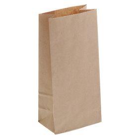 Пакет крафт бумажный фасовочный, 8 х 5 х 17 см Ош